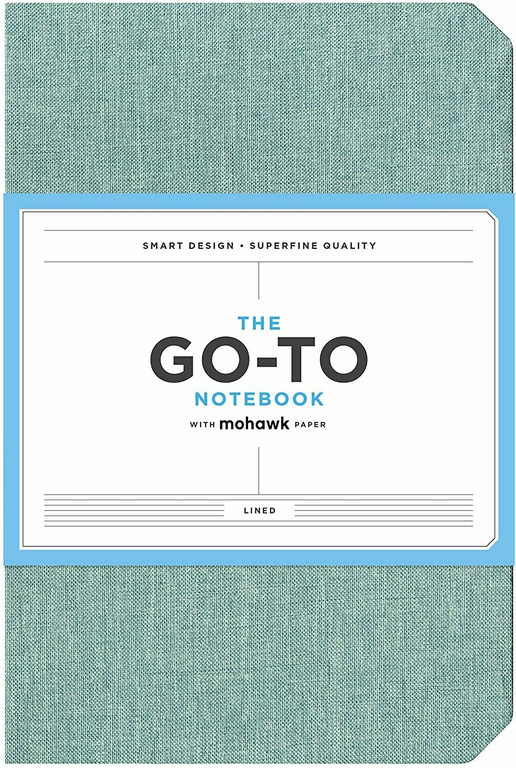 Go-To Notebook Lined Blue