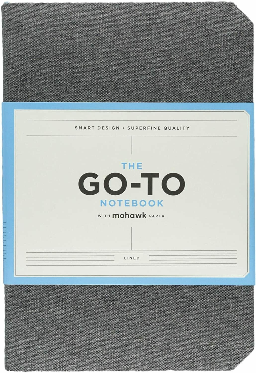 Go-To Notebook Lined Gray