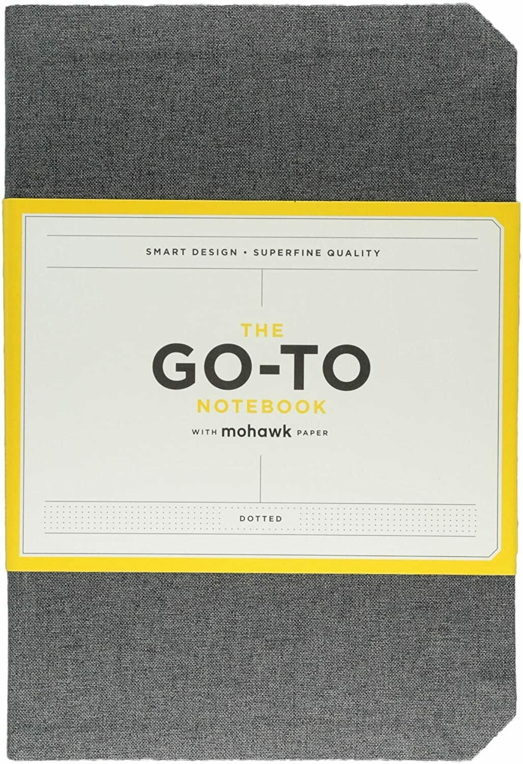 Go-To Notebook Dotted Gray