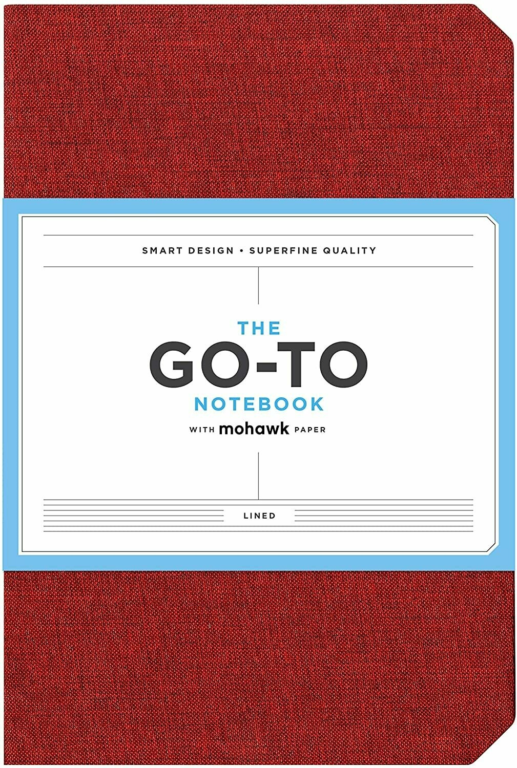 Go-To Notebook Lined Red