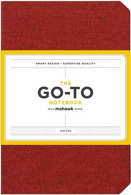 Go-To Notebook Dotted Red
