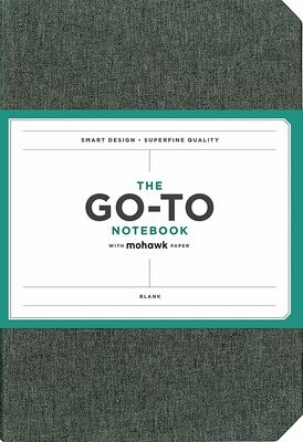 Go-To Notebook Blank Gray