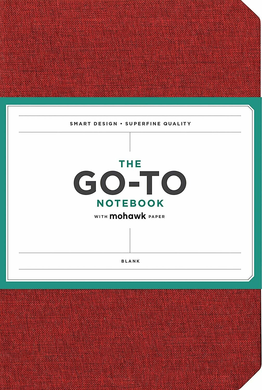 Go-To Notebook Blank Red