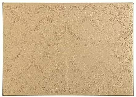 Gold Embossed Paseo Gue