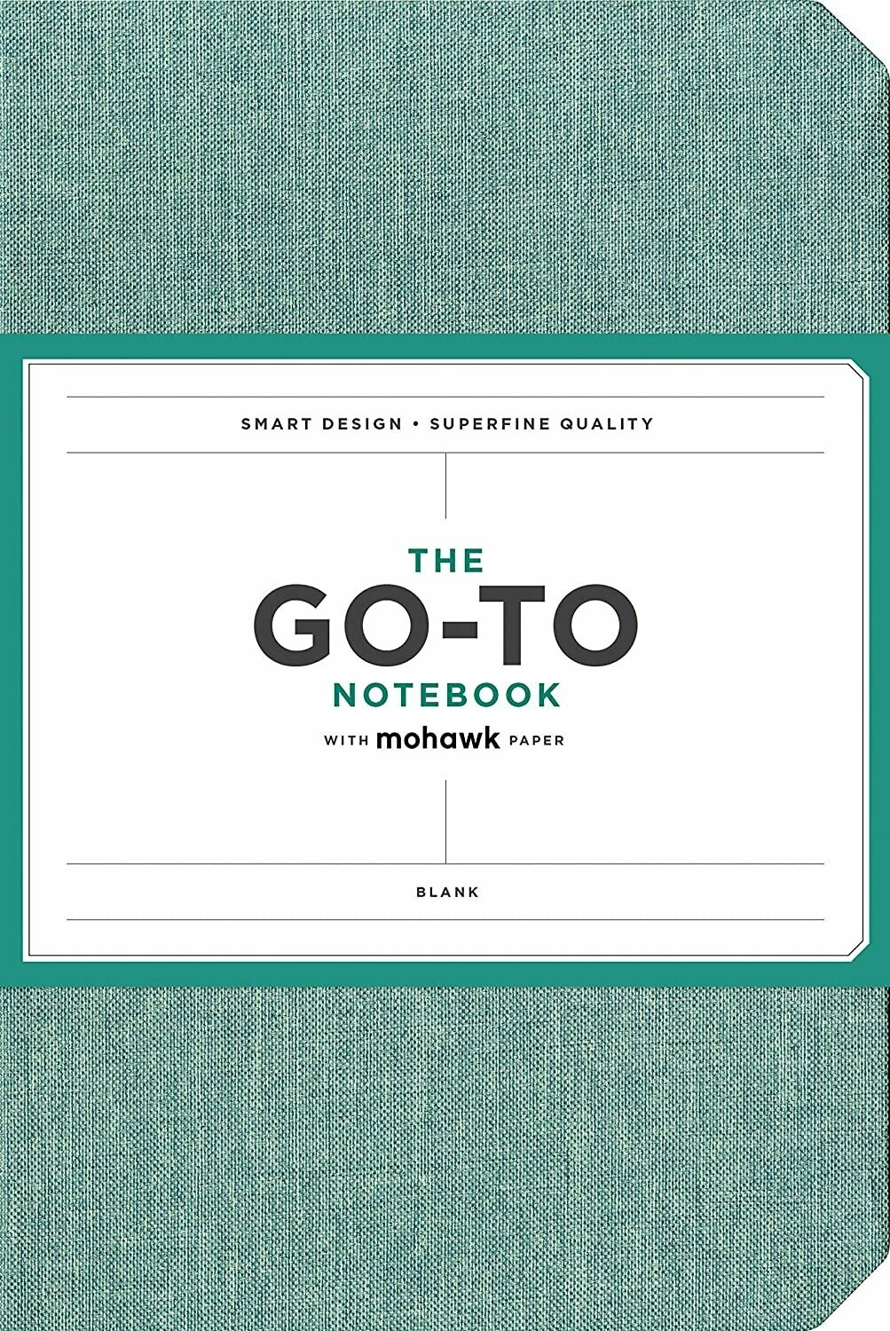 Go-To Notebook Blank Blue
