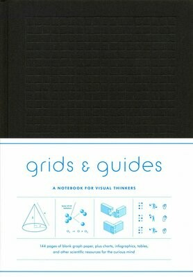 Grits and Guides Black Note Book