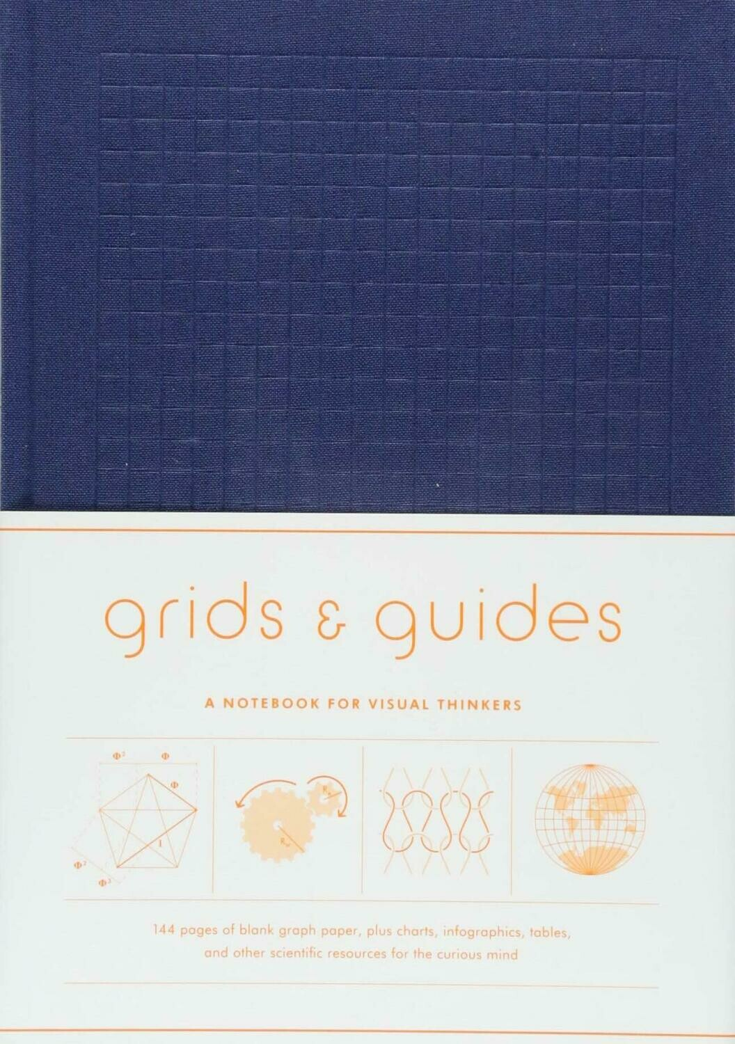 Grits and Guides Navy Note Book