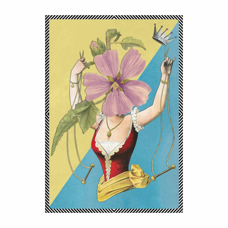 Madame Fleur Small Notebook