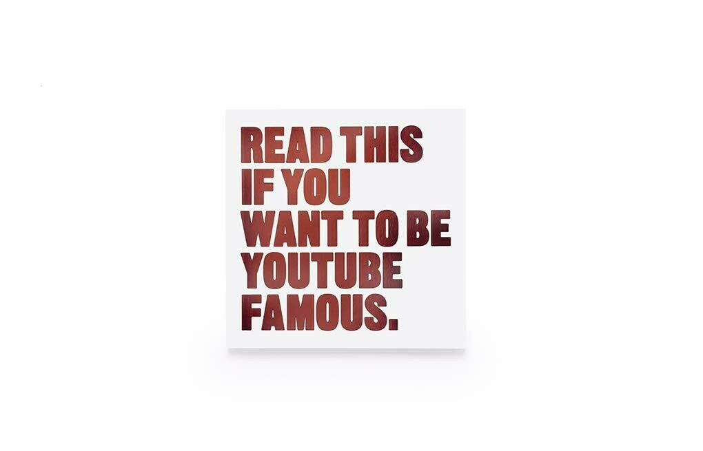 Read This Youtube Book