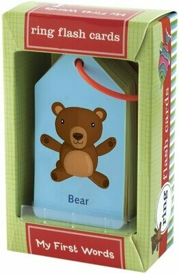 Ring Flashcards Baby's First Words