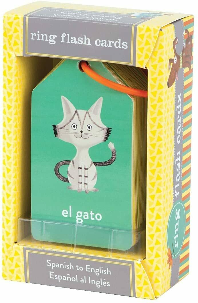 Ring Flashcards Spanish To English