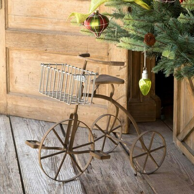 Vintage Tricycle Planter
