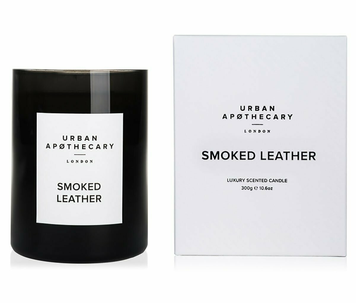 Smoked Leather Luxury Candle 300g