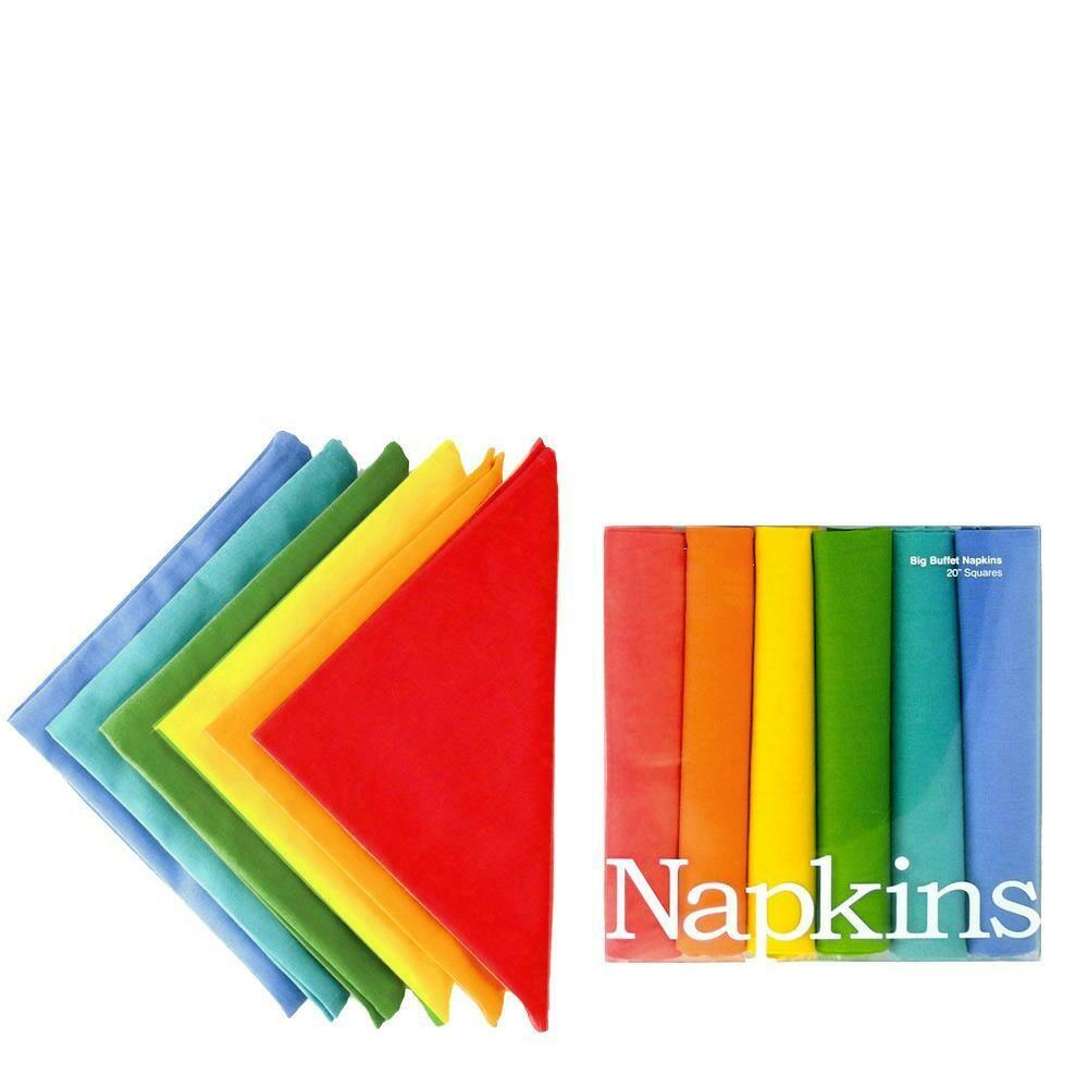 Big Rainbow Napkins