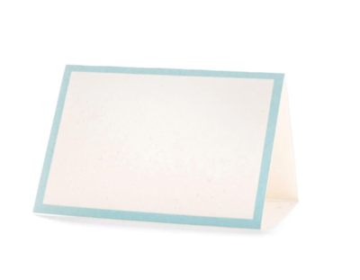 Seafoam Frame Plase Card