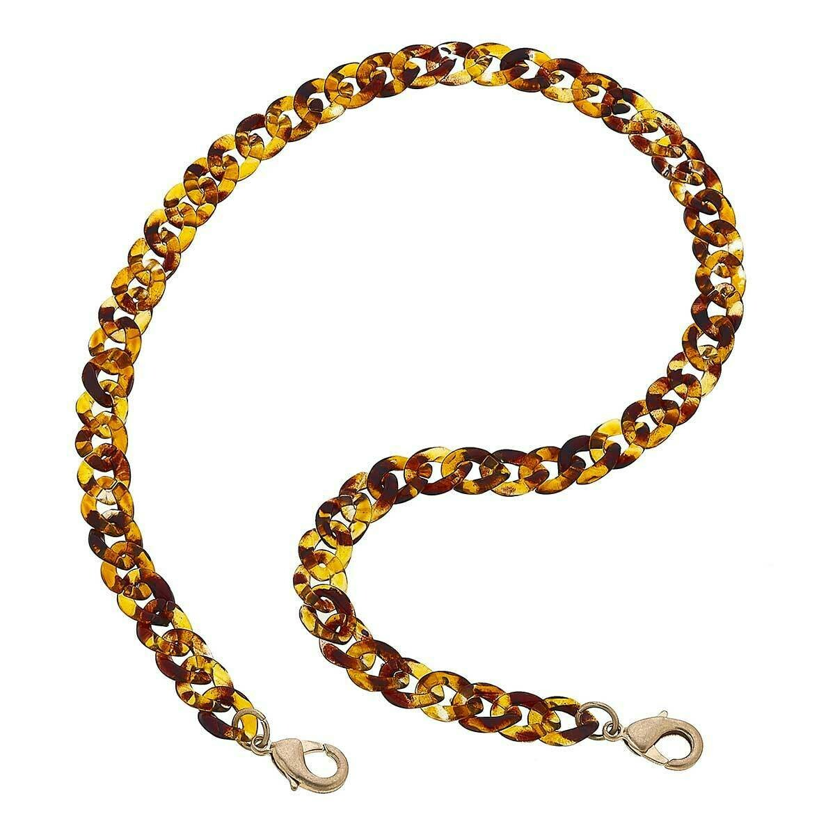 Chain Mask Necklace 22019M-TO-20
