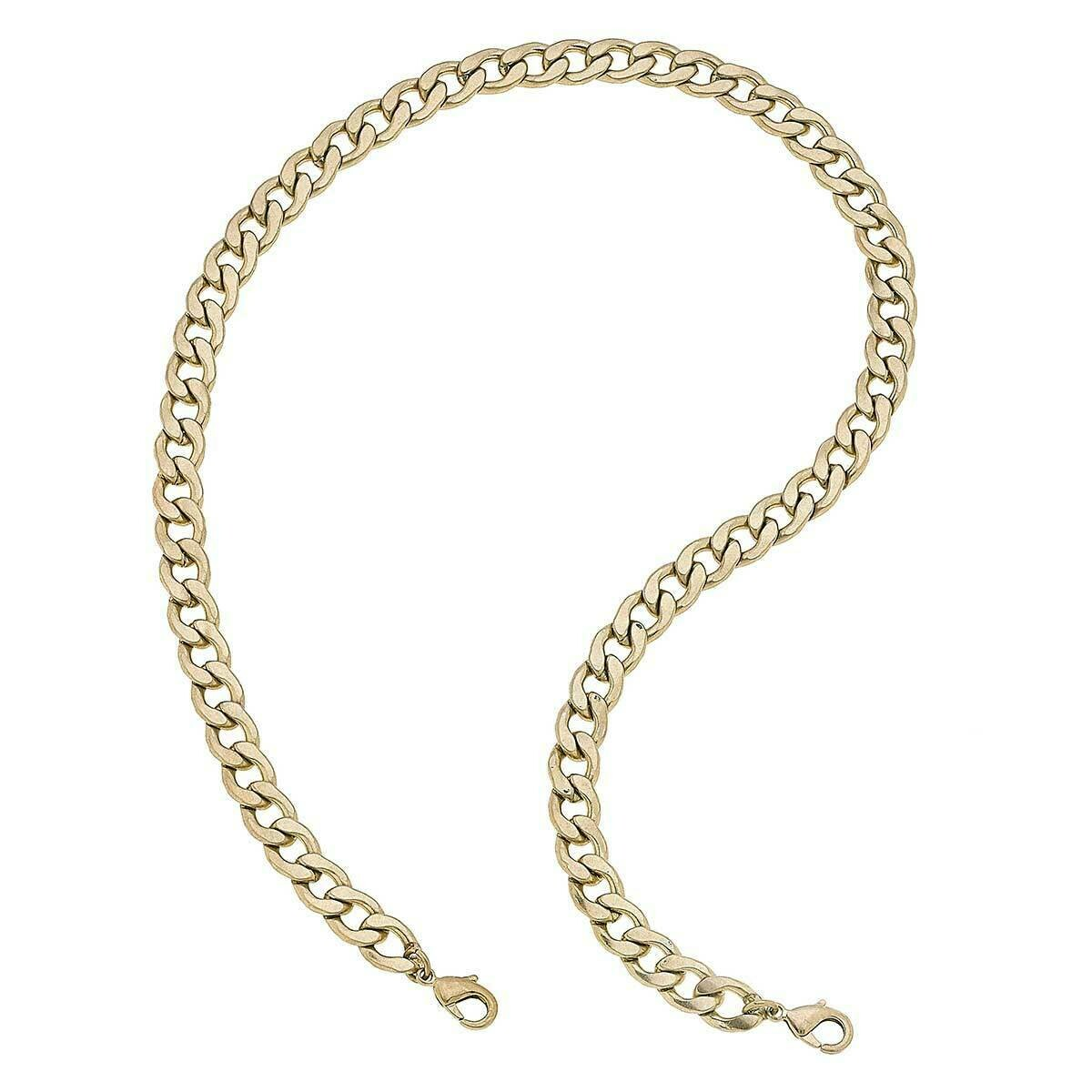 Chain Mask Necklace 22015M-WG-20