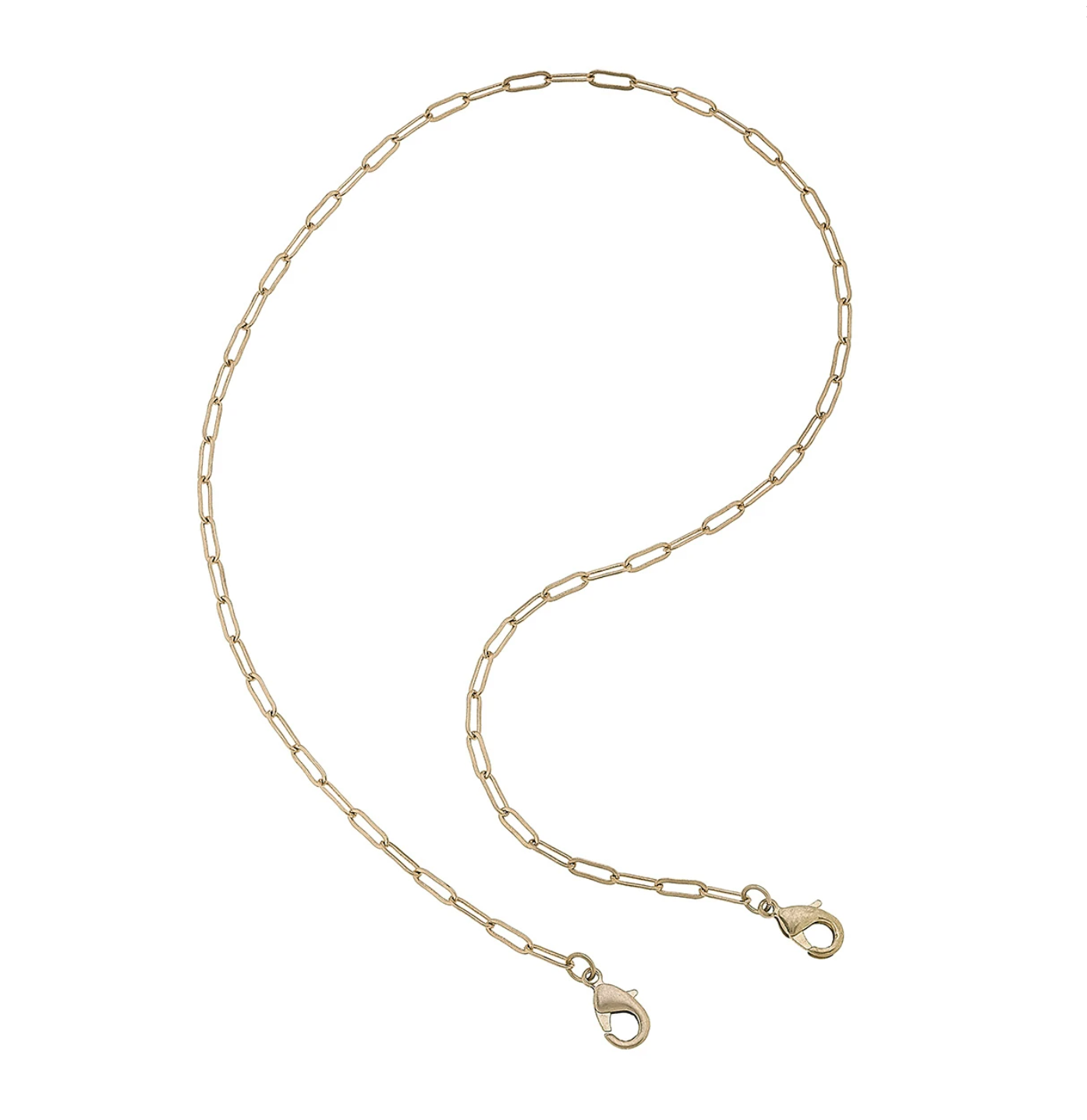 Chain Mask Necklace 22010M-WG-32