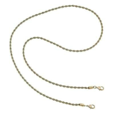 Chain Mask Necklace 22016M-WG-32