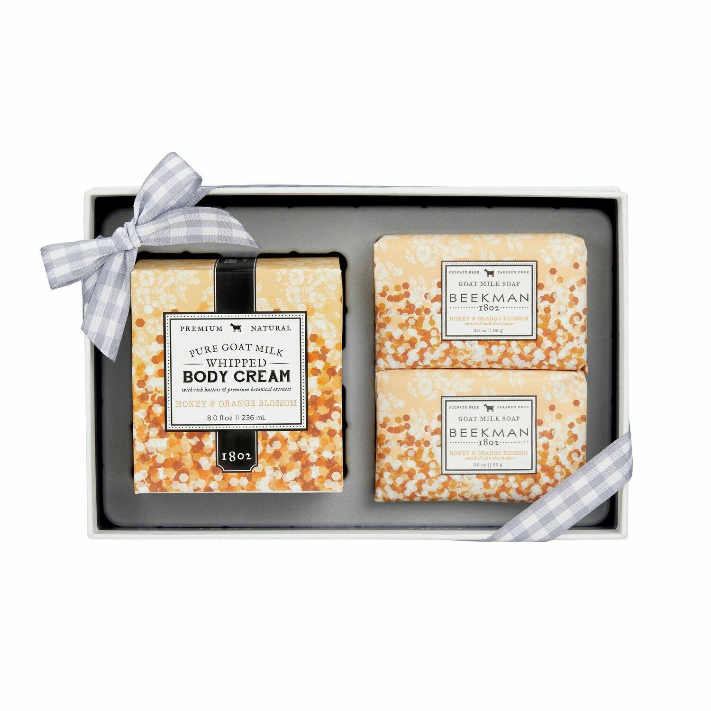 SamplerHoney & Orange Blo Soap & Body Cream