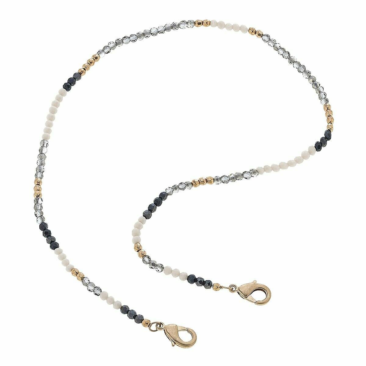 Chain Mask Necklace 22020M-PL-20