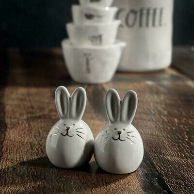 Bunny Salt & Pepper Ceramic