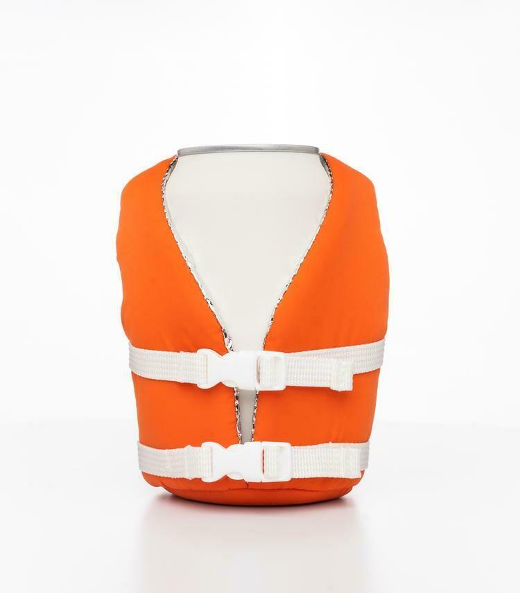 Vintage Orange Beverage life vest