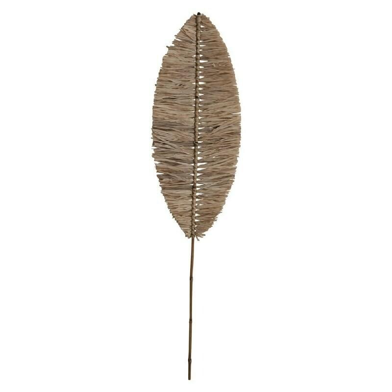 Natural Raffia Banana Leaf Shape