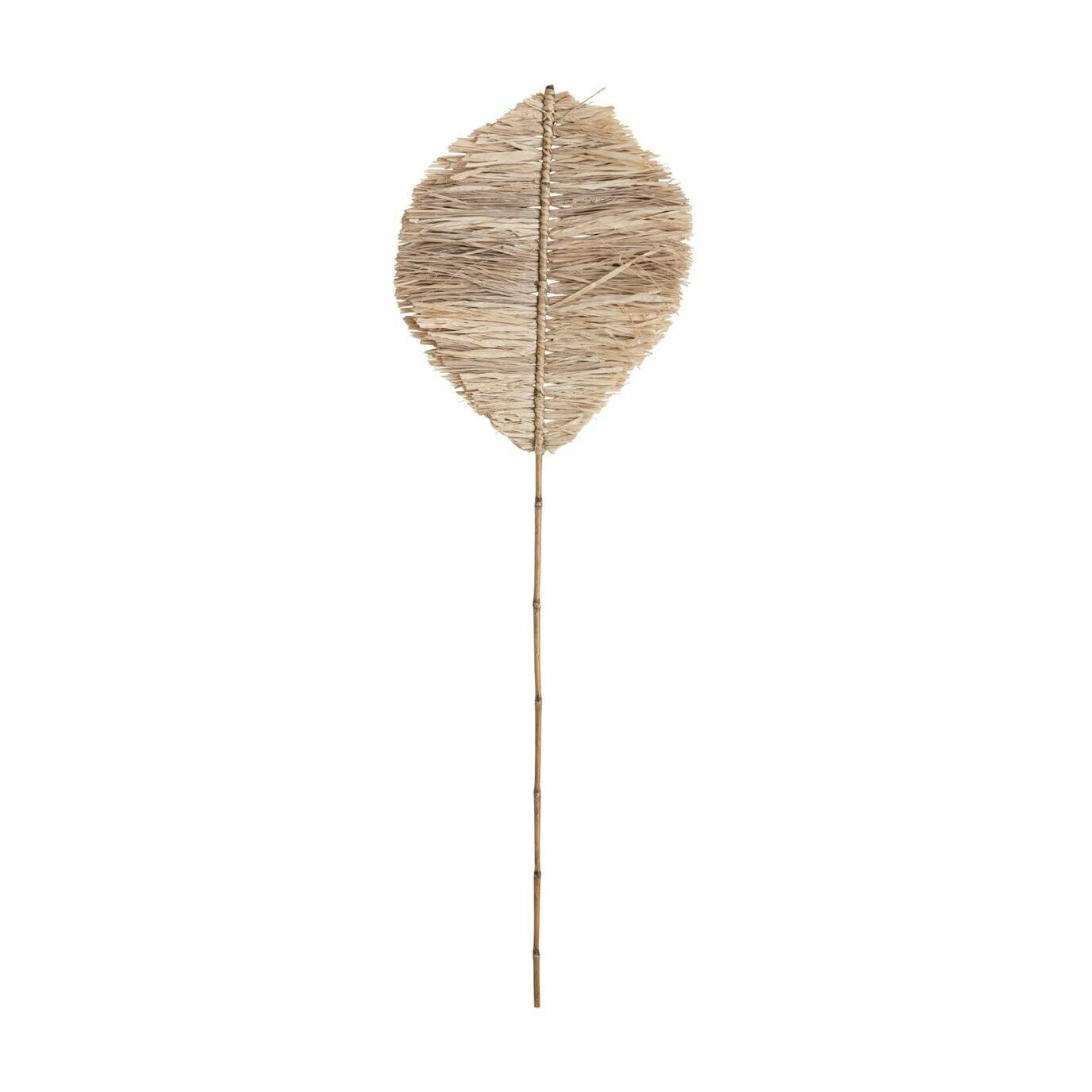 Natural Anahaw Shape leaf