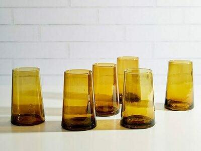 Moroccan Cone Glassware s/6