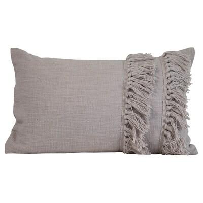 Handwoven Maya Pillow Gray