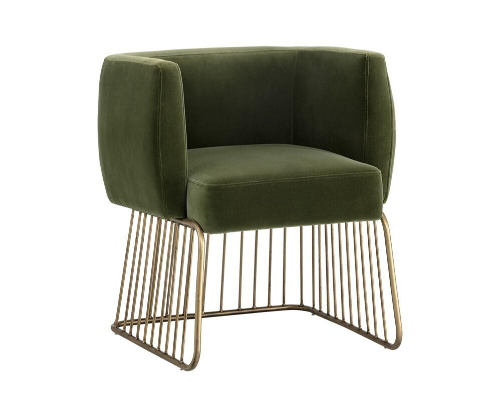 Gala Dining Chair Green