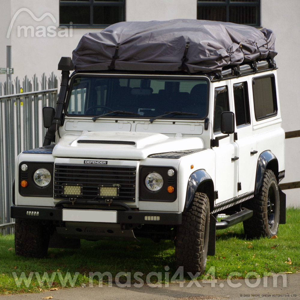 Roof Rack Cover For Land Rover Defender Crew Cab 90 And