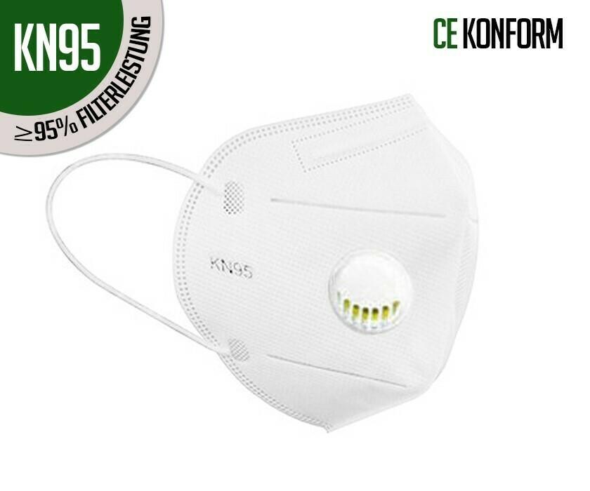 Mascherina respiratoria di protezione KN95 (FFP2) con ...