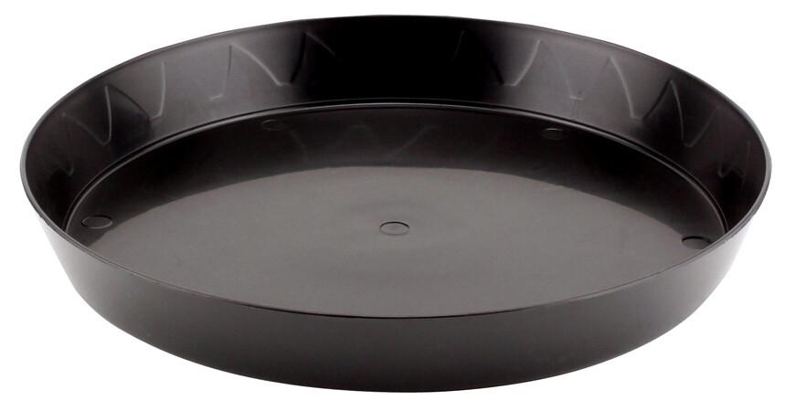 Gro Pro Heavy Duty Black Saucer