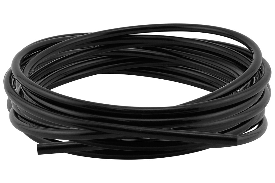 Hydro Flow Poly Tubing Black