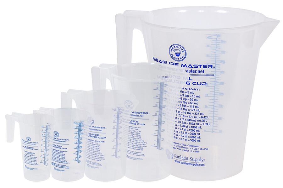 Measure Master Round Container