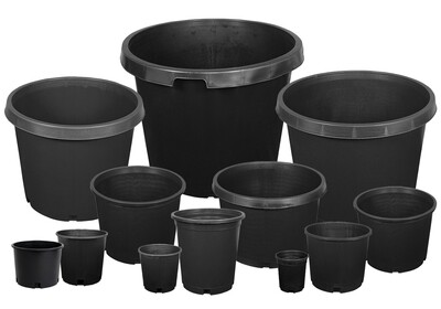 Gro Pro Premium Nursery Squat Pots