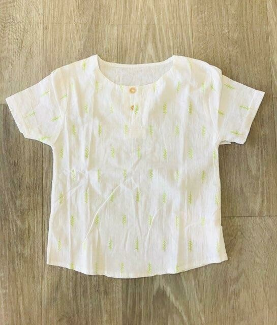 Leaf Linen Shirt