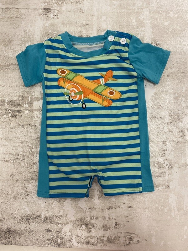Airplane Onesie- Infant 0-3M ONLY
