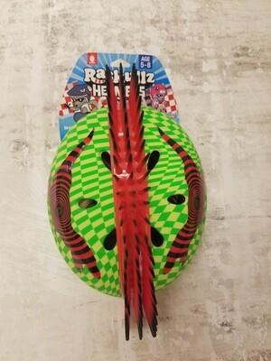 Green T-Hawk Kids Helmet