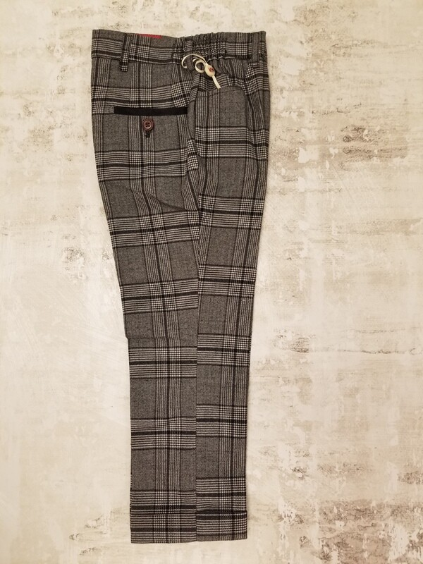 Dress Pant- Black and white