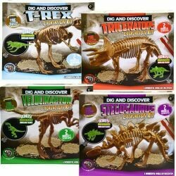 Dinosaur Fossil- Glow in the Dark