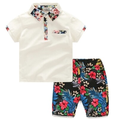 Hawaiian Short Set