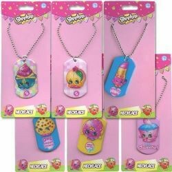 Shopkins Dog Tag Necklace