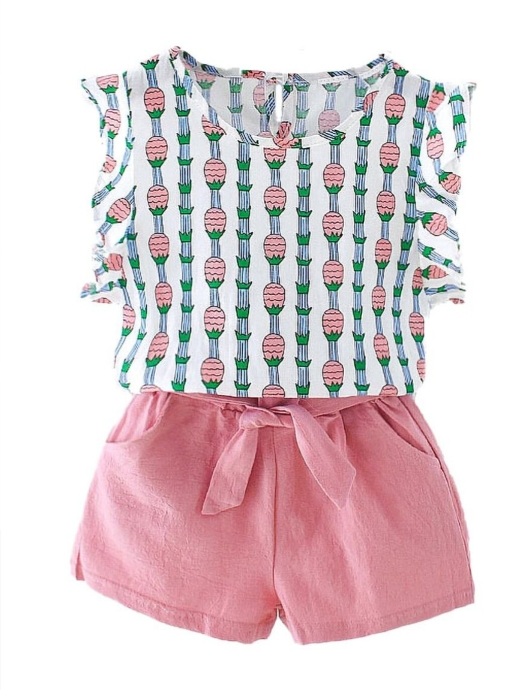Pink Pineapple Set