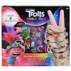 Trolls 2 Charm Bracelet Set in Box