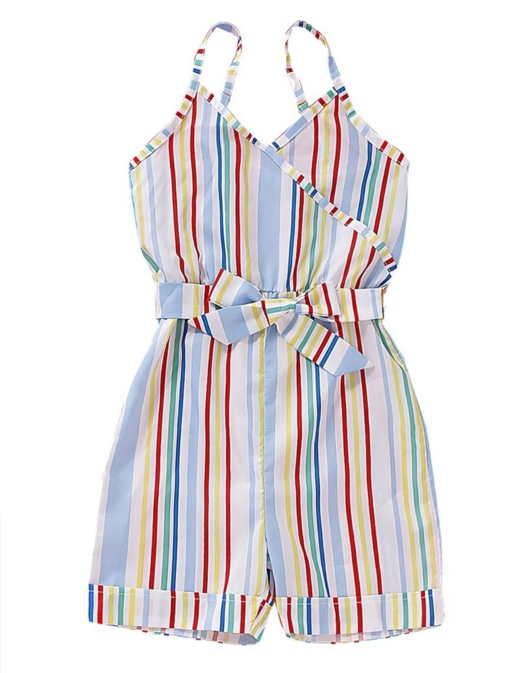 Striped Color Romper