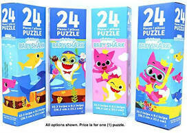 Baby shark 24 pc tower box puzzle