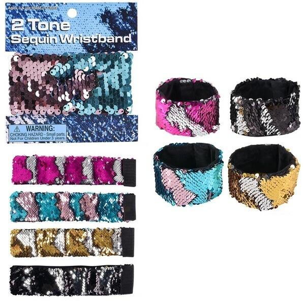 Flip Two Tone Sequin Bracelet